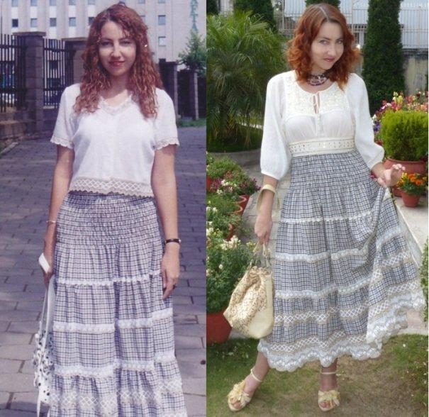 юбки в стиле кантри на фото