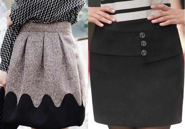 красивые шерстяные юбки