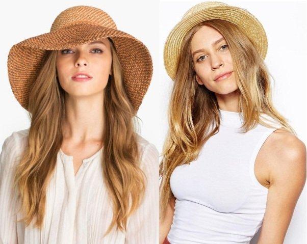 шляпы на лето 2015 на фото