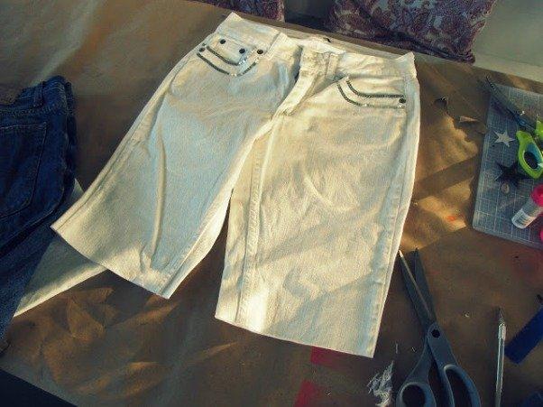 красиво порезать джинсы