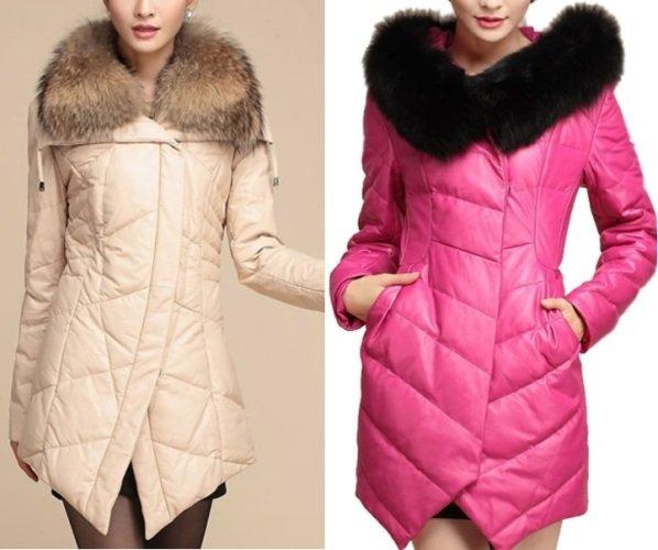 фото зимнего пальто