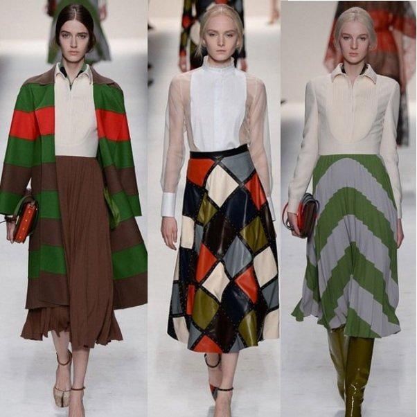 модные юбки на осень 2014 года на фото