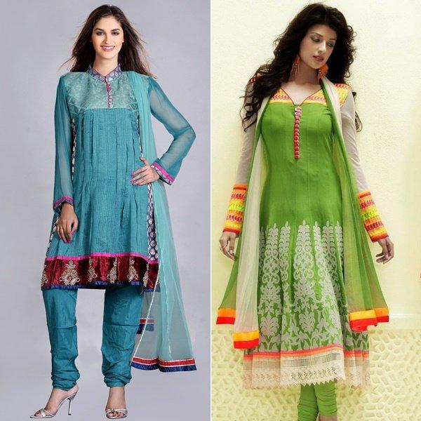 на фото платья в индийском стиле