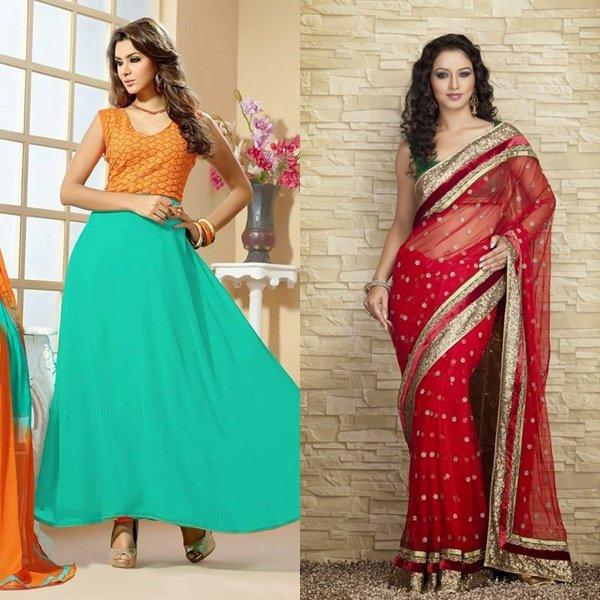 фото индийского платья