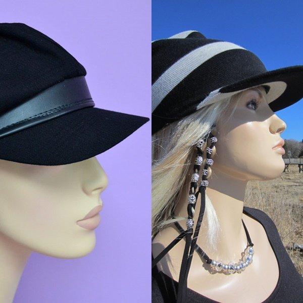 женские кепки на фото