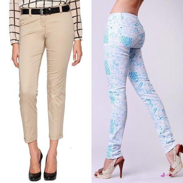 фасоны женских брюк на фото