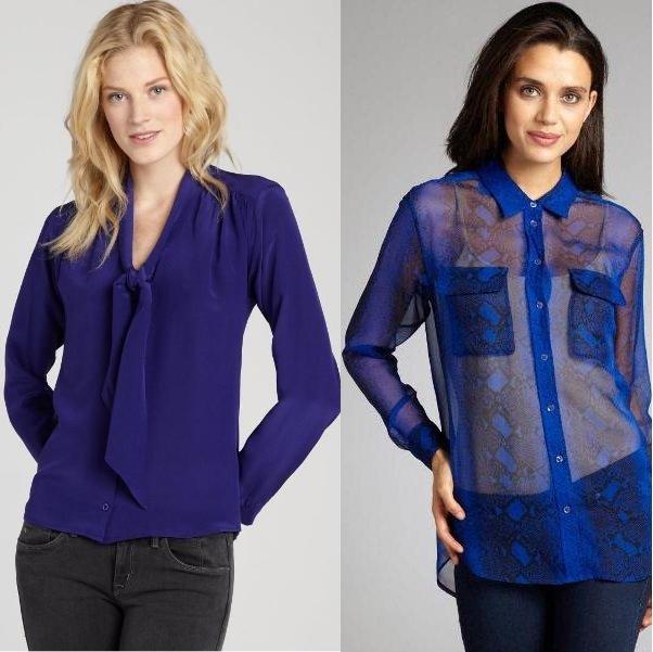 модные блузки на фото