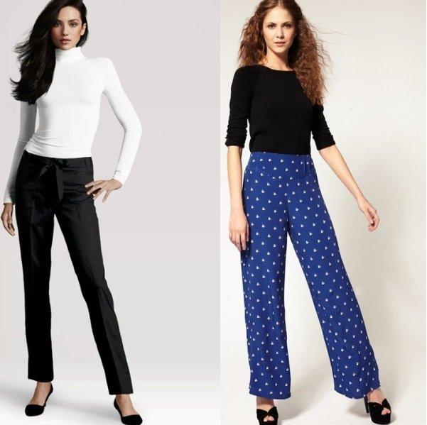 модные женские брюки на фото