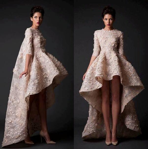 на фото необычные свадебные платья