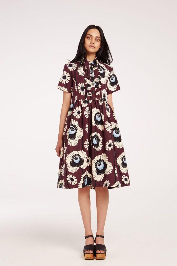 Цветочное платье из коллекции Орлы Кили