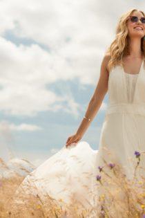 Модное шифоновое платье 2017
