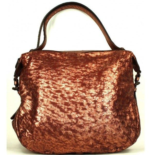 сумка бронзового цвета на фото