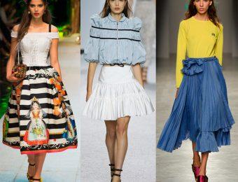 Модные пышные юбки 2019-2020 – обзор свежих трендов