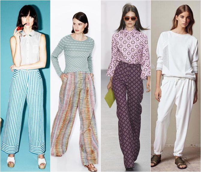 Пижамные брюки лето 2017
