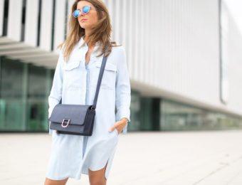 Платье-рубашка – оригинальный модный тренд 2019-2020 года