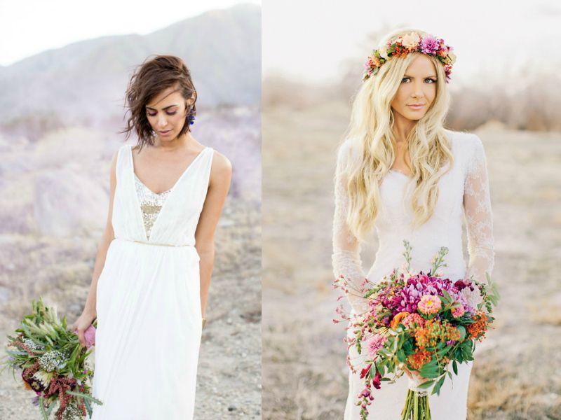 Свадебные образы в стиле бохо