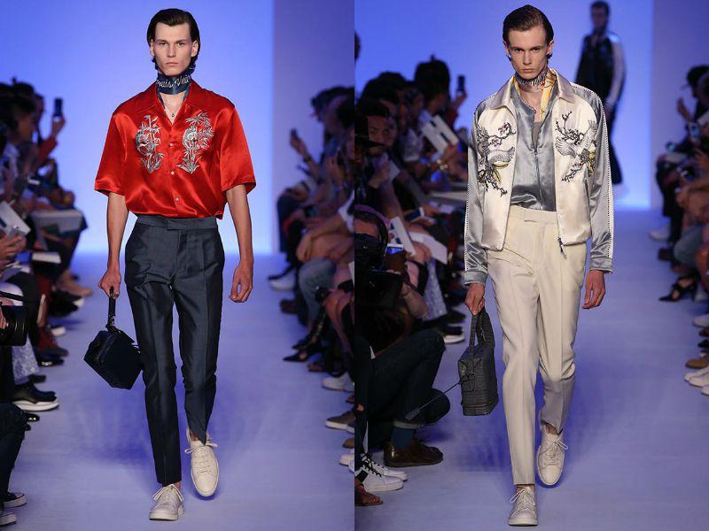 Японские мотивы в мужcкой коллекции от Louis Vuitton