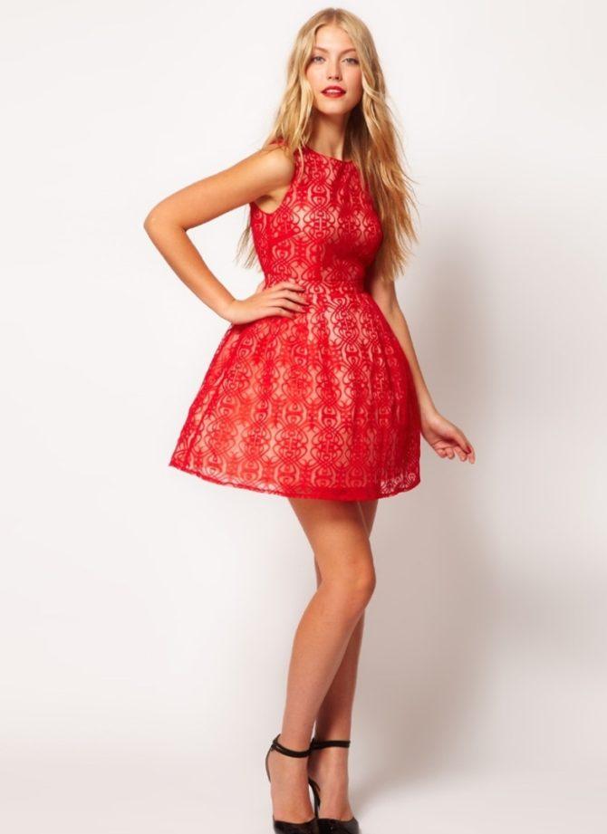 Пышное нарядное подростковое платье 2017
