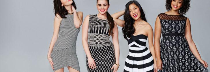 Модные подростковые платья 2017