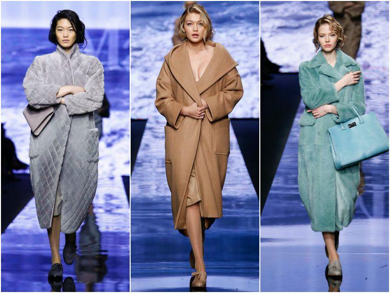 Пальто-коконы от Max Mara