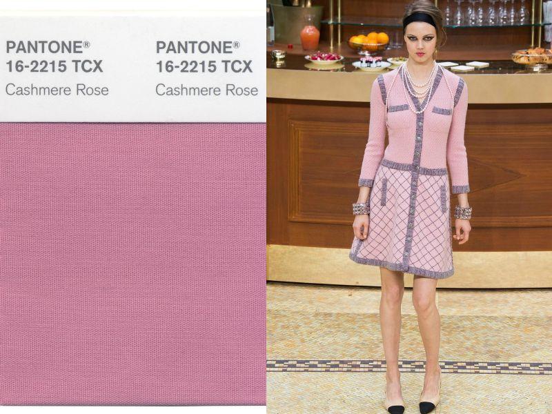 оттенок cashmere rose в одежде