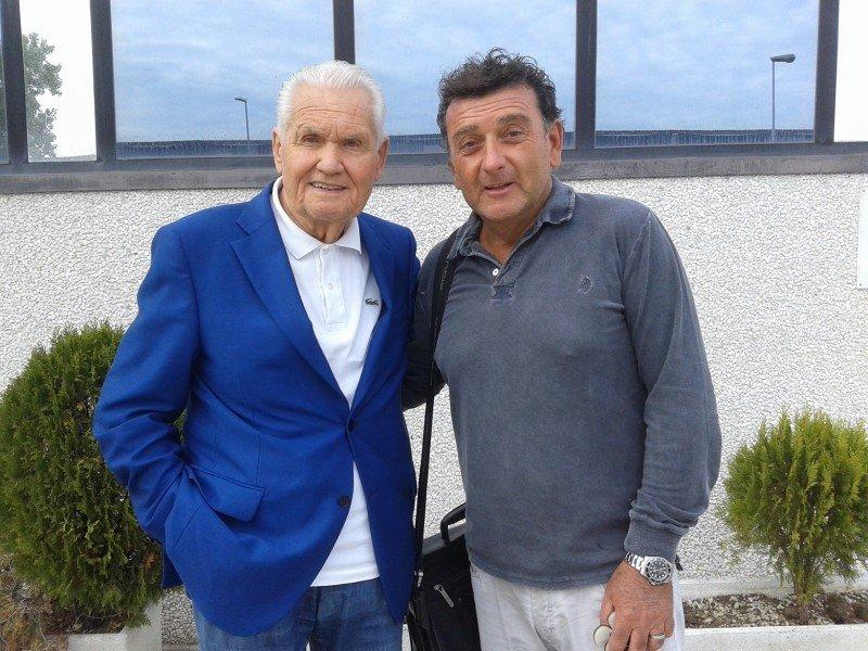Гольярдо Ладзери и Пьеро Фонтанелли