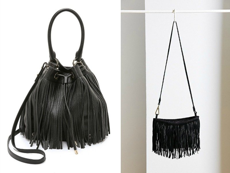 Две чёрных сумочки от Milley и Ecote Crescent