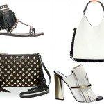 Интересные сочетания обуви и сумок
