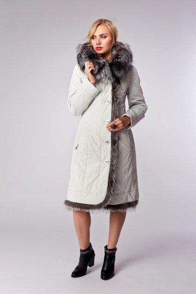 Утепленные зимние модели со стильной простежкой