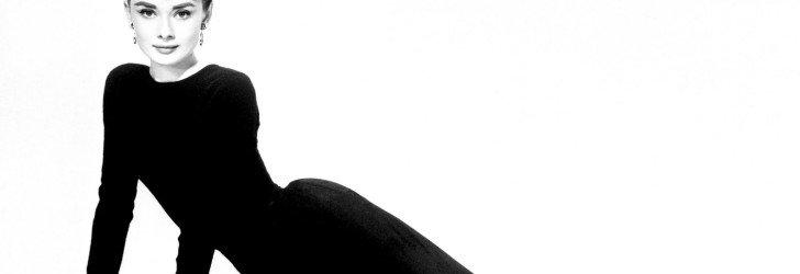 Одри Хепберн в классических черных балетках