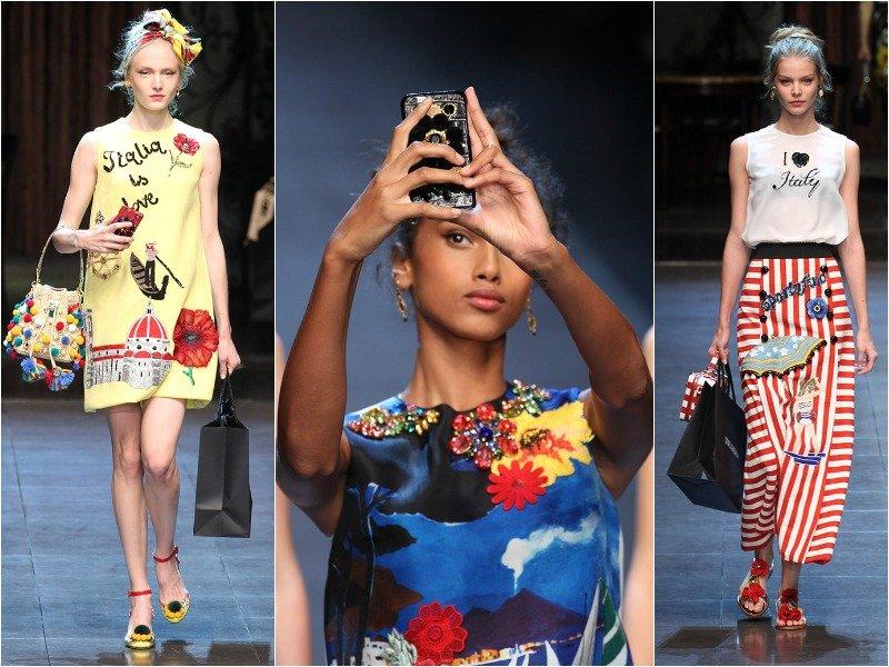 Весенне-летняя коллекция от Dolce & Gabbana