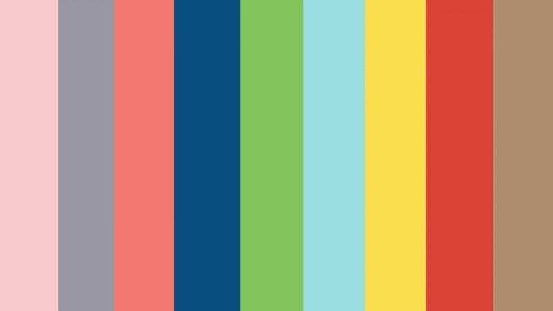 Цветовая палитра Pantone сезона весна-лето 2016