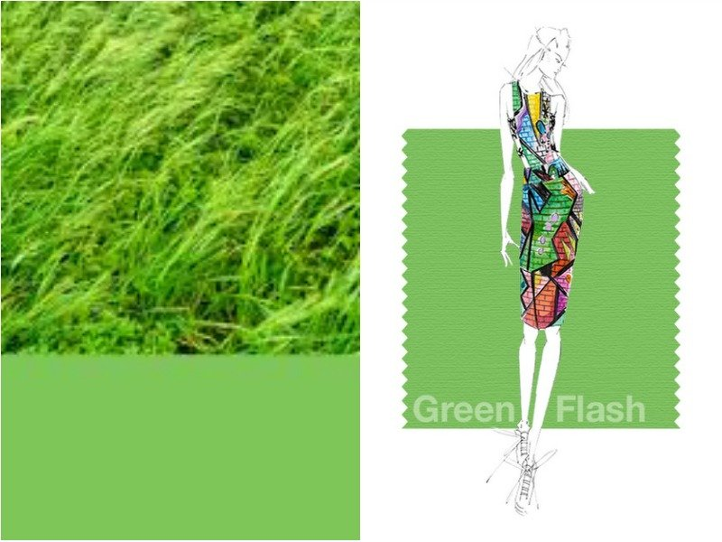 Green Flash - Зелёная вспышка