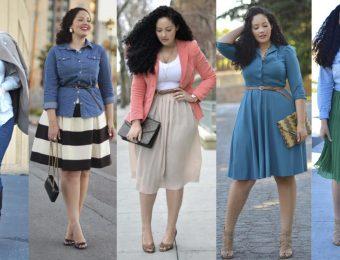 Ошибки, которые совершают полные девушки при выборе одежды