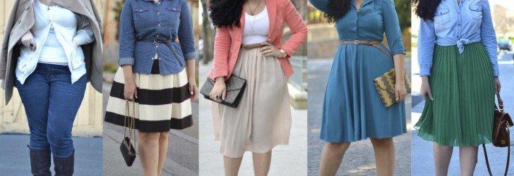 Мода для полных