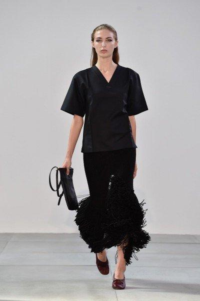 Показ коллекции одежды от Celine