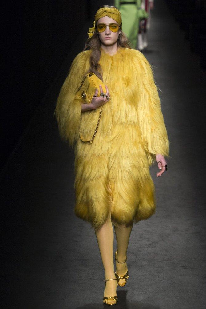 Жёлтый в коллекции Gucci