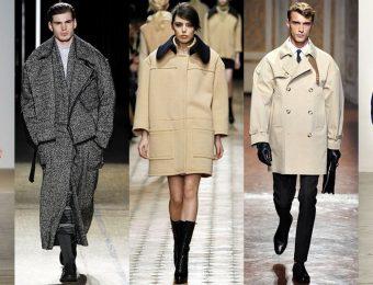 Возвращение к истокам: пальто кокон вновь на модных подиумах