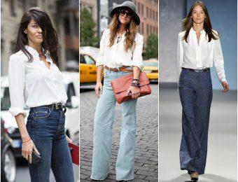 Какие женские брюки-клеш выбрать на 2019-2020 год?