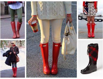 Модные и стильные резиновые сапоги 2019-2020