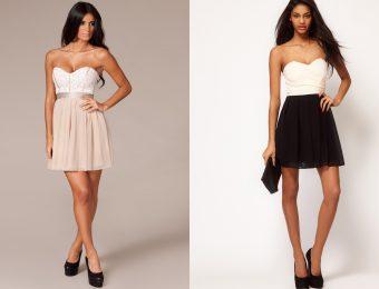 Платье бюстье для молодых и стройных?