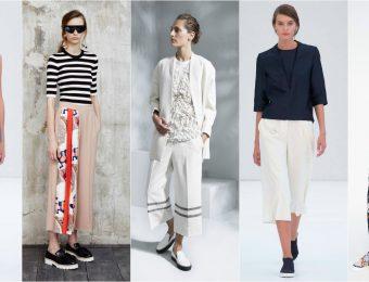 С чем носить модные в 2019-2020 году укороченные брюки?