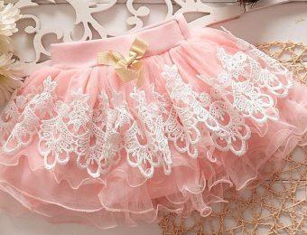 Модные модели пышных юбок для девочек 2019-2020 года на фото