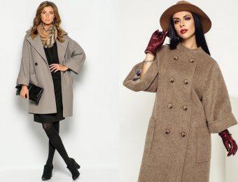 Шик, удобство и изысканность пальто с широким кроем рукава