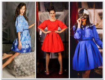 Вспоминая о «ретро» – платье-трапеция в стиле 60-х годов (с фото)