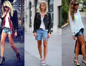 С чем носить и как выбирать джинсовые шорты по типу фигуры
