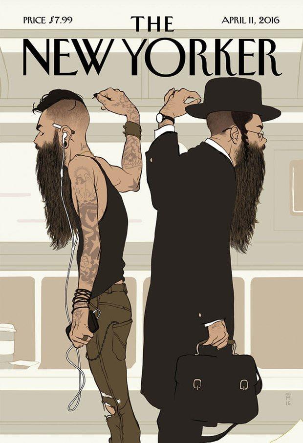 Обложка апрельского номера журнала «The New Yorker»