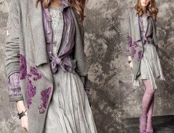 Модные вязаные пальто для женщин 2019-2020