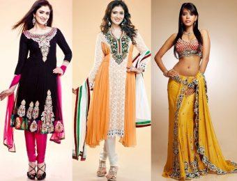 Традиционный и современный индийский стиль в одежде
