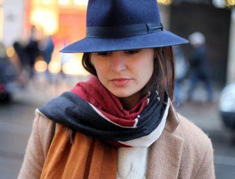 Как подобрать головной убор под пальто?